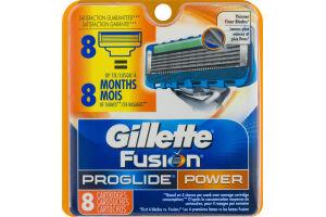 Gillette Fusion Proglide Power Cartridges - 8 CT
