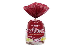 Хлеб пшенично-ржаной с семенами подсолнечника половинка в нарезке Балтийский Одеський хлібозавод №4 м/у 300г