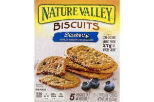 Nature Valley Biscuits Blueberry - 5 CT