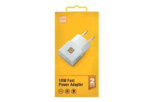 Устройство зарядное универсальное белое 10W 2A Luxe Cube 1шт