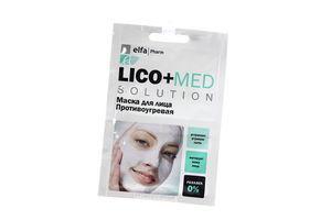 Маска для лица Противоугревая Lico+Med Elfa Pharm 20мл