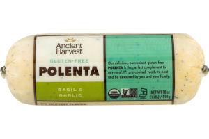 Ancient Harvest Polenta Gluten-Free Basil Garlic