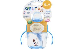 Avent 7 oz Soft Spout Cup with Handles 6m +
