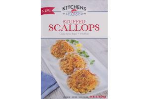 Kitchens Seafood Stuffed Scallops