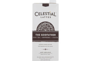 Celestial Lattes Black Tea Concentrate The Godfather