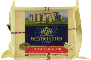 Westminster England Cheese Smoked Cheddar
