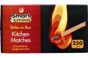 Smart Living Kitchen Matches - 250 CT