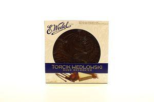 Торт E.Wedel вафельно-арахісовий в темному шоколаді 250г х12