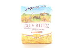 Мука пшеничная высший сорт Хуторок м/у 5кг
