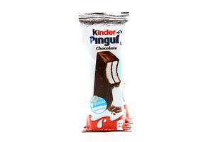 Бисквит Kinder Pingui в шоколаде с молочной начинкой Ferrero 4*30г/120г