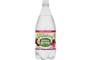 Poland Spring Sparkling Natural Spring Water Passion Fruit & Berry