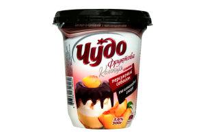 Десерт 3,6% Персиковий сабайон Чудо 300г