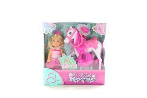 Набір ляльковий Еві Принцеса та королівський кінь з аксес.Simba 573 2833