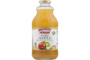 Lakewood Organic Fresh Pressed Pure Apple Juice