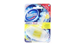 Блок для унитаза 3в1 Лимон Domestos 40г
