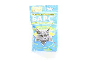 Наповнювач для котів Барс №5 5кг х4