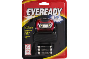 Eveready 2 LED Headlight