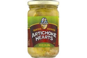 Season Artichoke Hearts Marinated