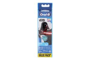 Насадки змінні для електричної зубної щітки Star Wars Disney Oral-B 4шт