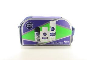 Набор Nivea Men Для чувствительной кожи 3предм в косметичке арт.95680-57636-00