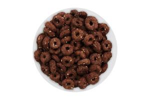 Завтрак сухой Кольца глазированные сахарной глазурью с какао и кунжутом Золоте Зерно кг
