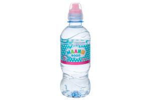 Вода для дітей від 0міс питна негазована Малиш п/пл 0.33л