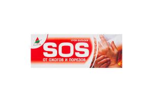 Крем-бальзам для тела от ожогов и порезов Sos Еліксір 75мл