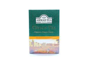 Чай черный листовой Ceylon Orange Pekoe Gold Ahmad Tea к/у 200г