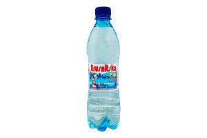 Вода мінеральна сильногазована Брусницька п/пл 0.5л