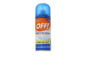 Средство от комаров слепней и мошек Smooth&Dry Off! 100мл