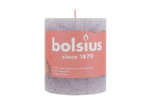 Свеча Bolsius Руcтик замороженная лаванда 80/68мм