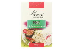 Рис длиннозернистый Art Foods к/у 500г