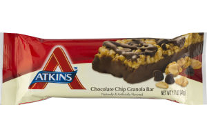 Atkins Chocolate Chip Granola Bar