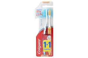 Зубная щетка мягкая Slim Soft Colgate 2шт