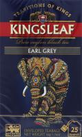 Чай черный Kingsleaf Earl grey конверт