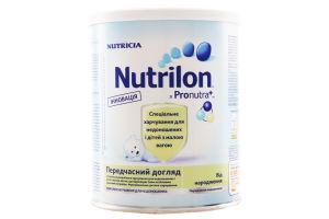 Смесь молочная сухая для детей с рождения №1 Преждевременный уход Nutrilon ж/б 400г