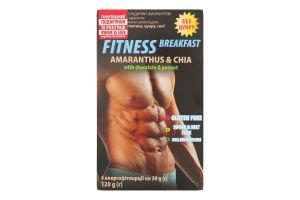 Сніданки сухі амарантові з чіа, арахісом і темним шоколадом Air Yummy Healthy Generation к/у 120г