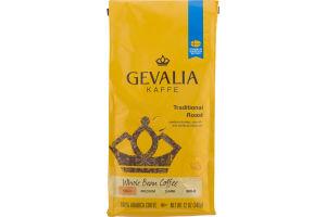 Gevalia Kaffe Traditional Roast Whole Bean Coffee Mild
