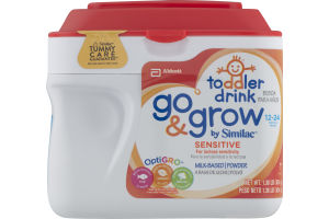 Abbott Go & Grow by Similac Toddler Drink Sensitive