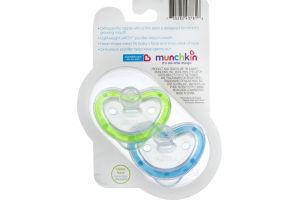 Munchkin Latch Infant Orthodontic Pacifier Lightweight - 2 PK