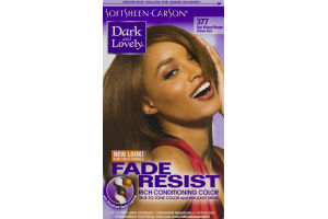 Dark And Lovely Fade Resist Rich Conditioning Color 377 Sun Kissed Brown