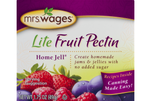 Mrs. Wages Lite Fruit Pectin Home Jell