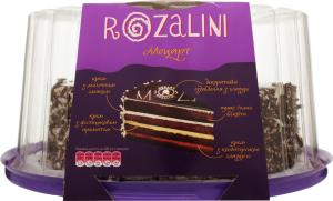 Торт бісквітний Моцарт Rozalini 0,9кг