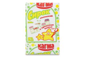 Сирок 8% солодкий з ароматом ваніліну Кагма м/у 100г