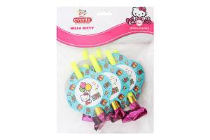 Дудки-язычки Hello Kitty Eventa 6шт