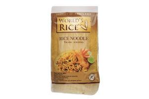 Локшина рисова World's Rice м/у 400г
