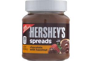 HERSHEY'S Spreads in Chocolate with Hazelnut Flavor, 13 oz
