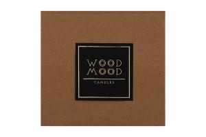 Свічка воскова S Rocky Wood Mood 1шт