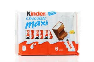 Шоколад Chocolate Maxi Kinder 6шт/126г