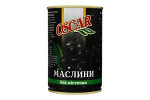 Маслини без кісточки Oscar foods з/б 400г